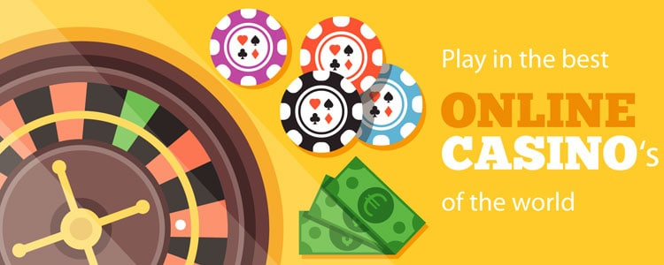 Play the best online casino's