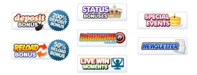 Bingo Cams Bonuses