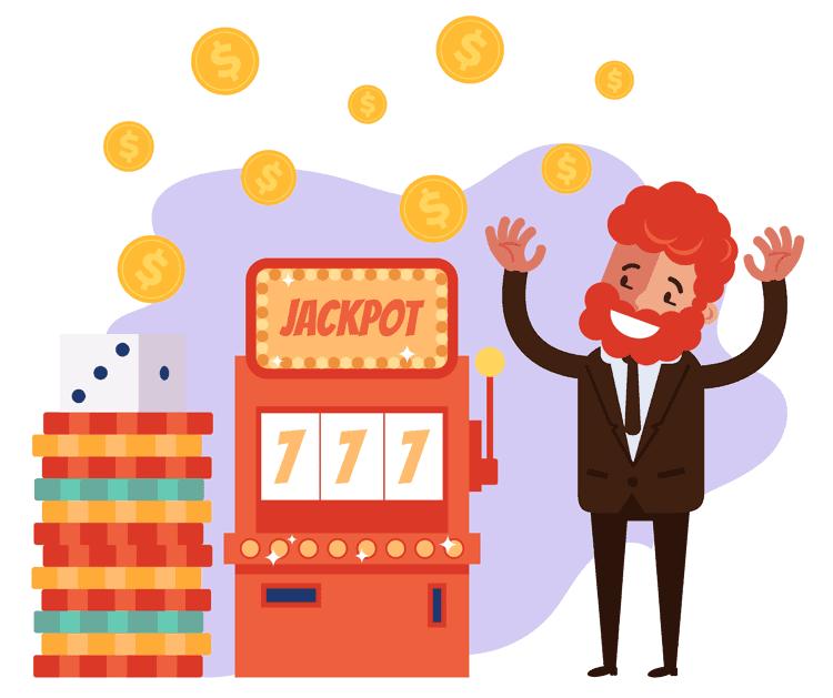 Slots machine jackpot